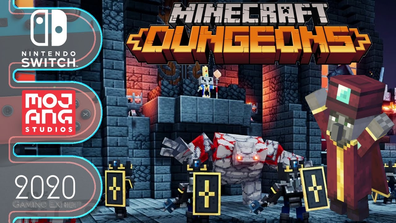 Minecraft Dungeons - Nintendo Switch - Part 3, Finale