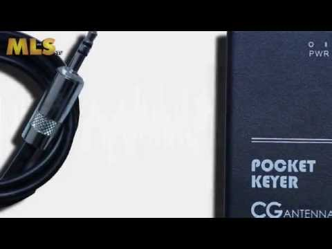 CG Antenna PK 4 Auto Pocket Keyer at ML&S