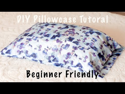 how-to-sew-a-satin-pillowcase|-french-seam-pillowcase-|-no-pattern-required