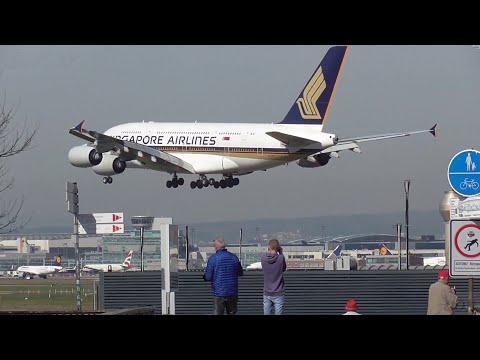 Plane Spotting Special at Frankfurt Airport.