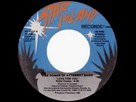 The Power Of Attorney Band - Love For You (1986)