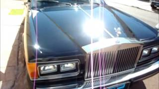 Rolls Royce Silver Spirit - Correção Técnica de Pintura/Paintwork Correction