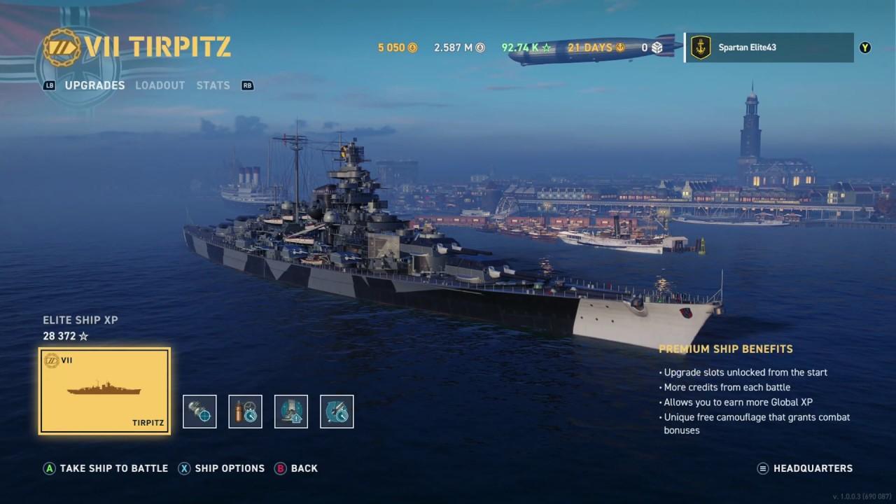 xbox world of warships