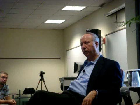 We Are Change Ohio confronts David Gergen on NWO and Bohemian Grove part 1 of 2