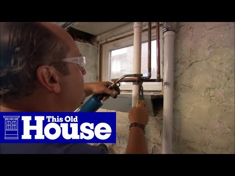 How to Install a Utility Sink - This Old House