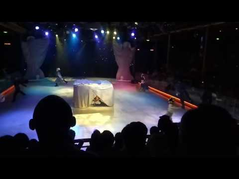 Royal caribbean ~ Mariner of the Sea.  Ice skating show