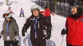 Disabled Skiing CADS Calgary .mpg