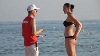 LIFEGUARD PRANK ON THE BEACH!!