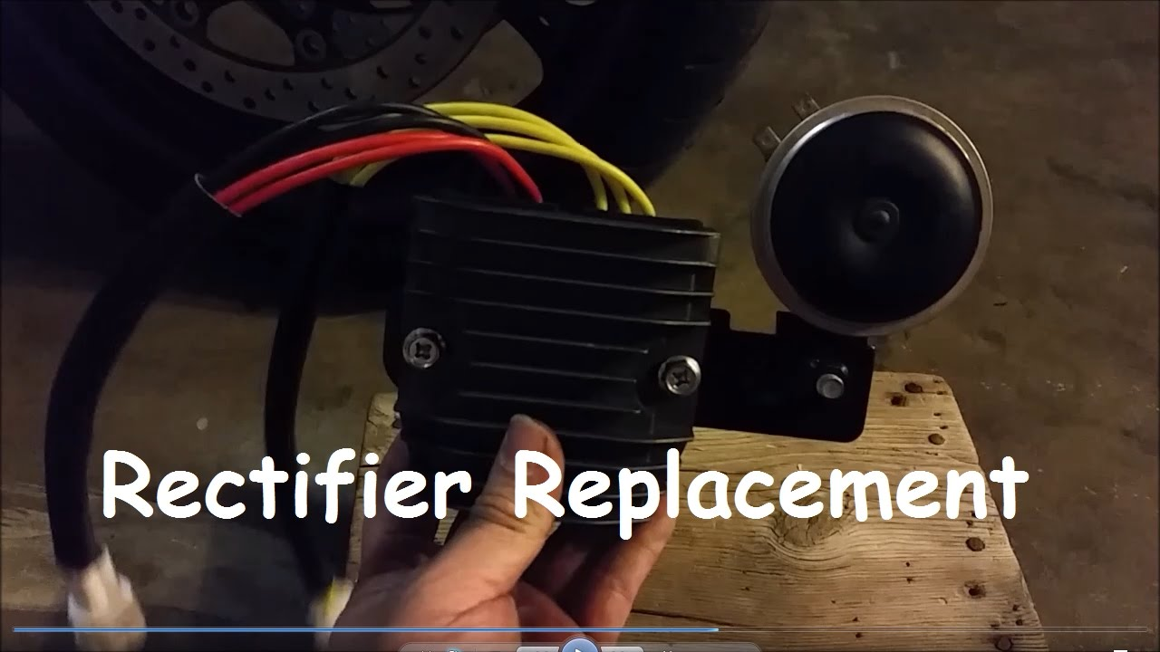 gsxr 600 rectifier removal and install [ 1280 x 720 Pixel ]
