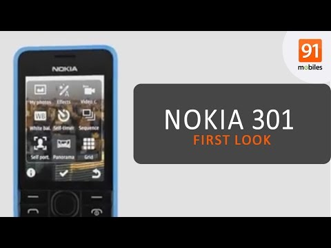 Nokia 301: First Look   Hands on   Launch