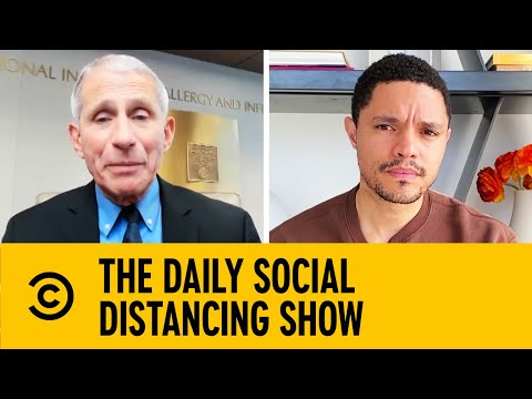 Dr. Fauci Talks With Trevor About The Threats Posed By COVID-19 | The Daily Show With Trevor Noah