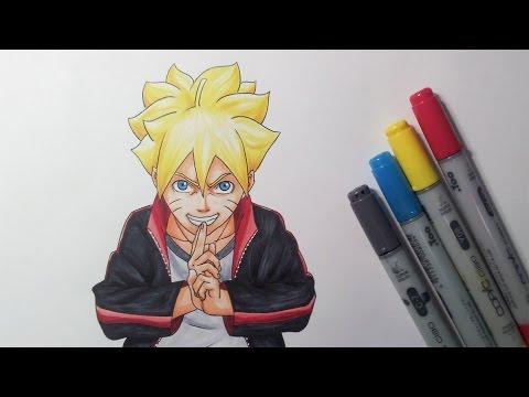 Drawing Boruto Uzumaki - Boruto: Naruto The Movie