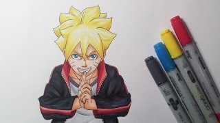 Drawing Boruto Uzumaki - Boruto: Naruto The Movie