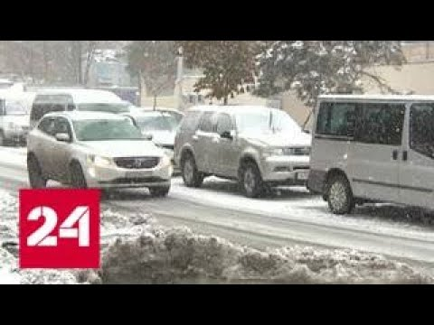 В Новороссийске из-за урагана ввели режим ЧС - Россия 24