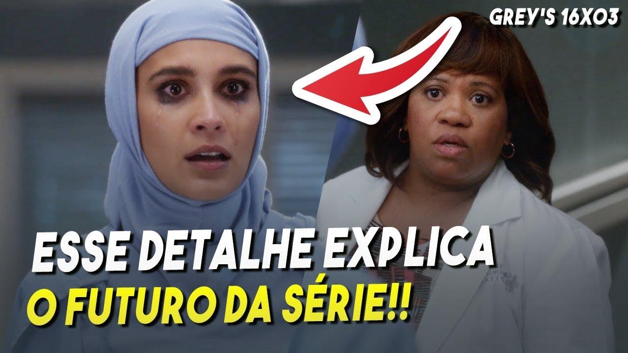 A Melhor Temporada Em Anos E Eu Explico O Porquê Grey S Anatomy 16x03 Youtube