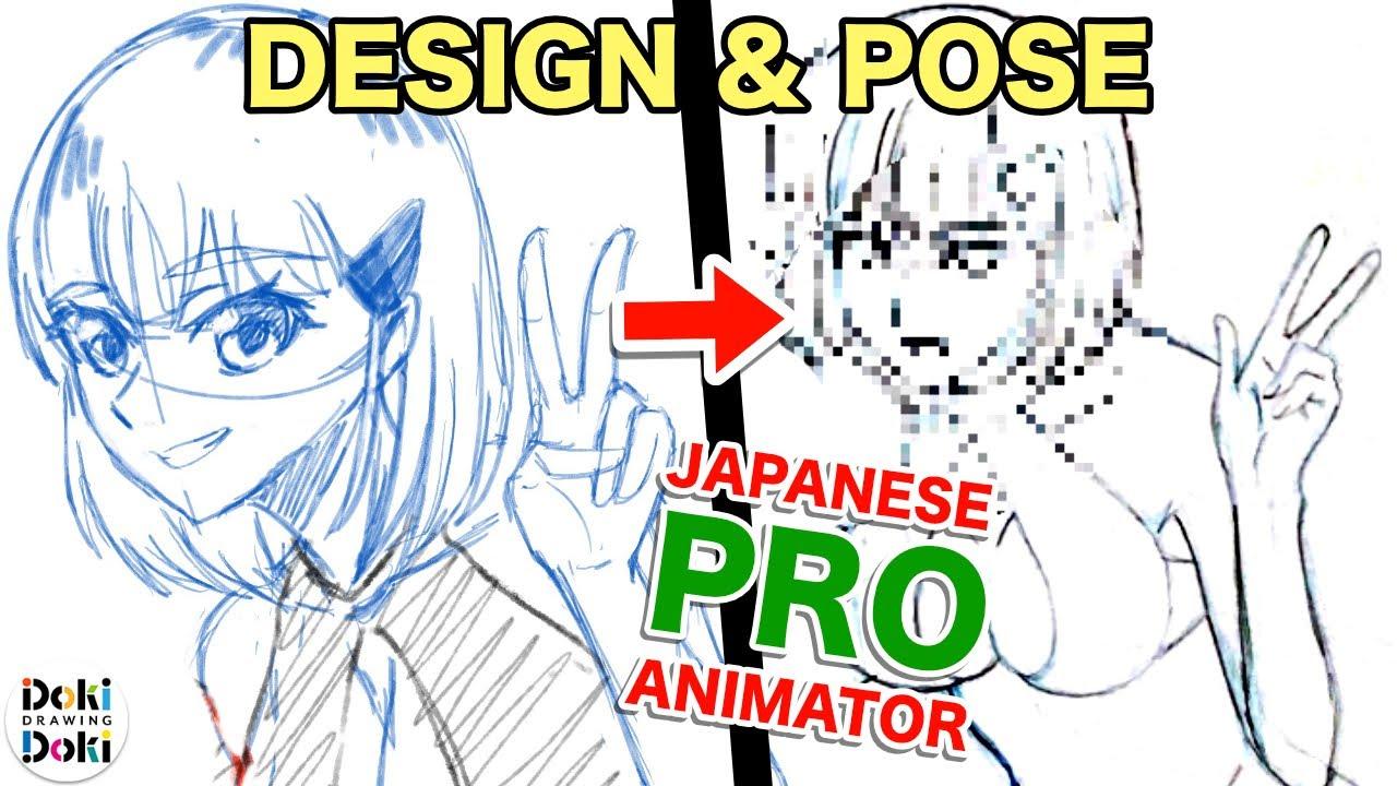 Bikinis! Design and Pose!|Japanese PRO Redraw Challenge [part 2]