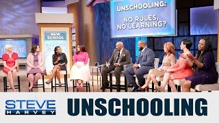 Parenting Panel: New Unschooling Trend || STEVE HARVEY