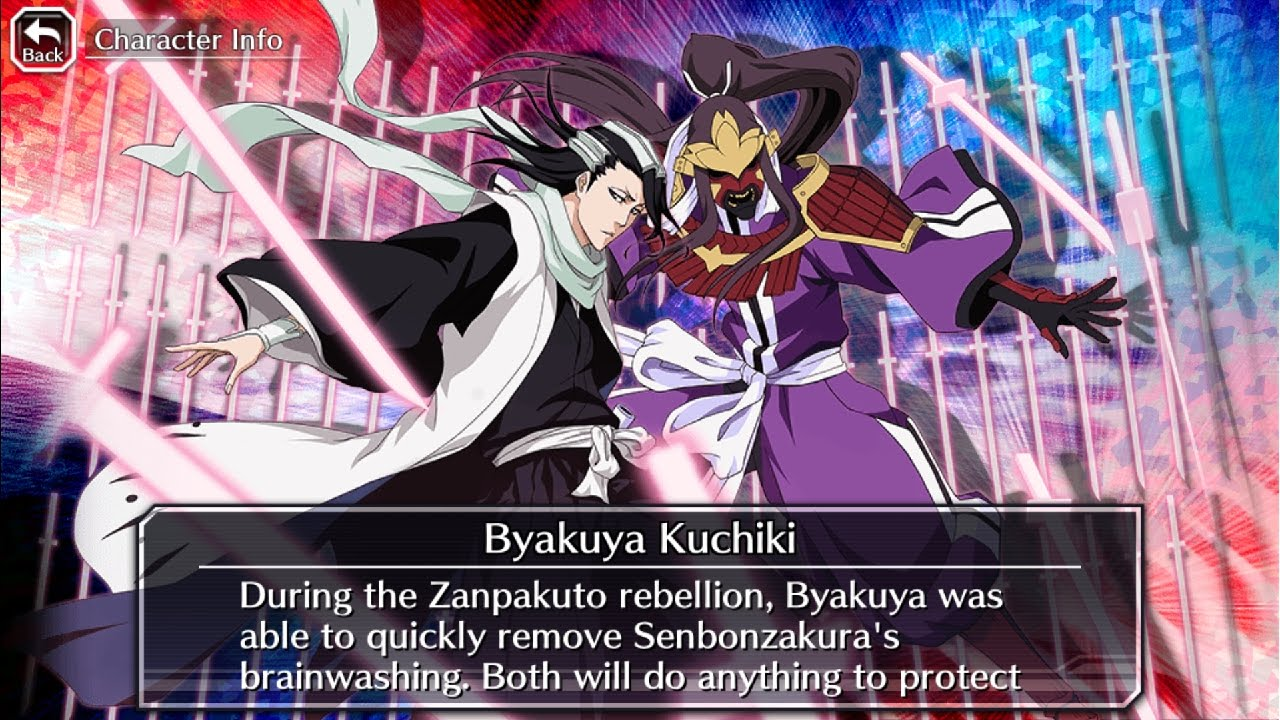 tag team byakuya kuchiki senbonzakura 6 sad build youtube