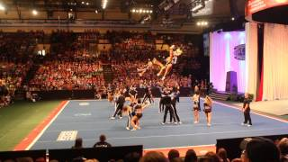 Cheer Athletics Wildcats Day 2 Worlds 2014