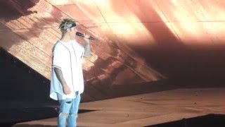 U Smile And Children- Justin Bieber (Purpose World Tour) 4/29/16