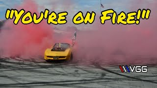 Supercharged C3 Corvette Lets ALL The Eagles fly! (multiple fires)
