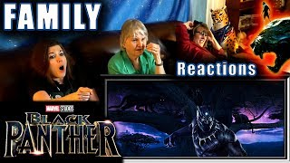 Black Panther | FAMILY Reactions | Fair Use