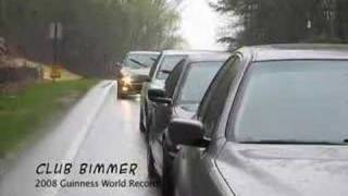 Club Bimmer 2008 BMW Guinness World Record