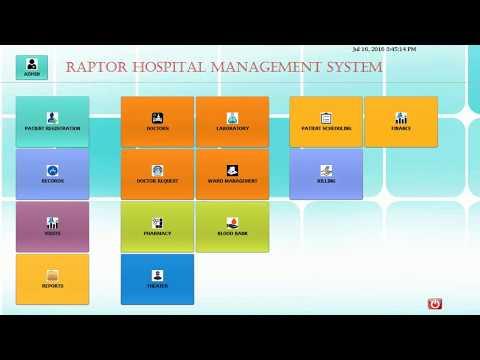 Hospital Management System(HMS Software) Demo