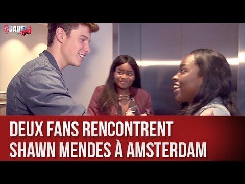 Deux fans rencontrent Shawn Mendes à Amsterdam - C'Cauet sur NRJ