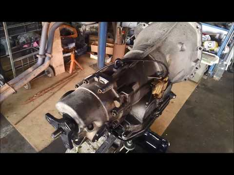 Mercedes 722.5 Auto Transmission Removal Hints