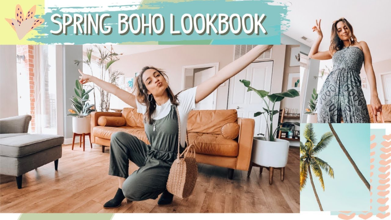 Spring Boho Lookbook! Outfits Im Loving Right Now!