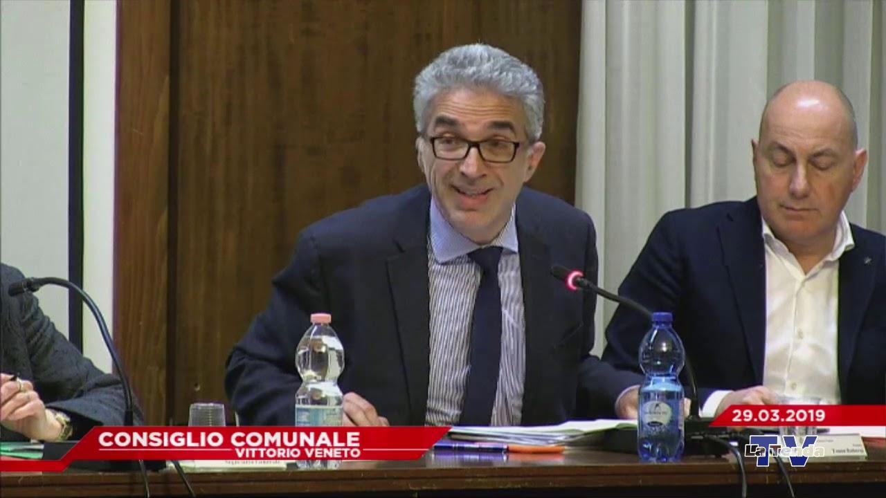 CONSIGLIO COMUNALE VITTORIO VENETO - Seduta del 29.03.2019