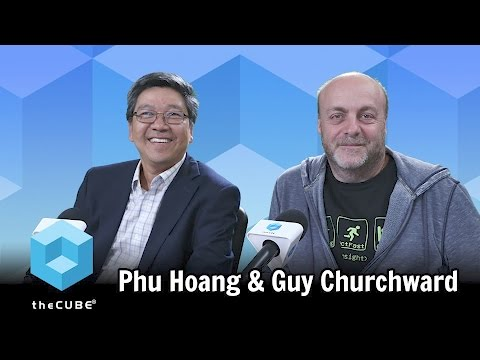 Guy Churchward & Phu Hoang, DataTorrent Inc. | Mobile World Congress 2017
