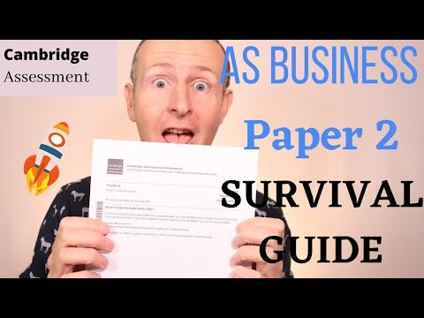 AS Survival Guide Paper 2 Analyse and Evaluate Essay Questions and Solutions Cambridge International