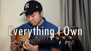 Everything I Own (WITH TAB) Bread (Relaxing fingerstyle guitar cover)