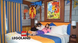 LEGOLAND Room Tour Castle Hotel Knights and Dragons