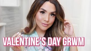 DATE NIGHT ROUTINE! SKIN, HAIR, MAKEUP, OUTFIT! ALEXANDREA GARZA