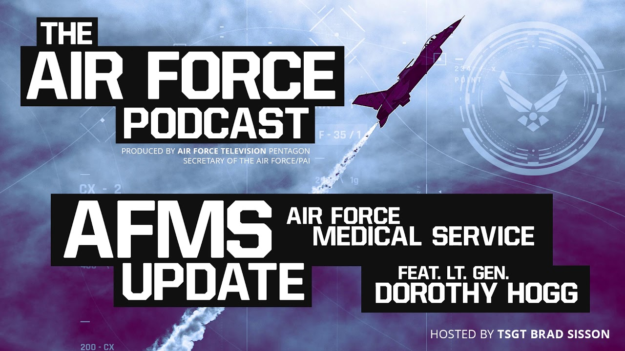 Lt. Gen. Dorothy Hogg, Air Force Surgeon General, discusses updates to the Air Force Medical Service and how the changes will effect members of the Air Force Community.