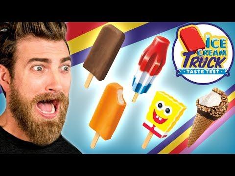 Смотреть клип Ice Cream Truck Taste Test: Round 1 онлайн бесплатно в качестве
