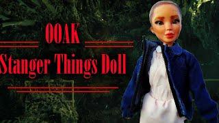 OOAK Eleven Stranger Things Custom Doll