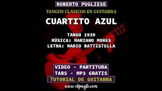 Cuartito azul - tango guitarra Roberto Pugliese (Mores-Battistella)