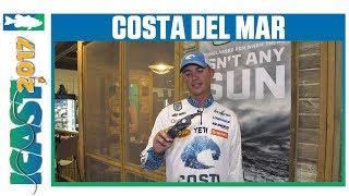 Costa Del Mar Gray Silver Mirror Lenses with Casey Ashley | ICAST 2017