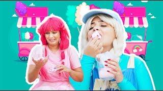 يويو ودودي وغزل البنات - yoyo dodi and grandpa hair candy