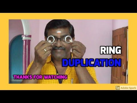 MAGIC TRICKS VIDEOS IN TAMIL #553 I RING DUPLICATION @Magic Vijay