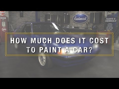 how much does it cost to paint a car kevin tetz on professional paint. Black Bedroom Furniture Sets. Home Design Ideas