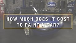 How Much Does It Cost To Paint A Car? Kevin Tetz On Professional Paint Jobs - Eastwood