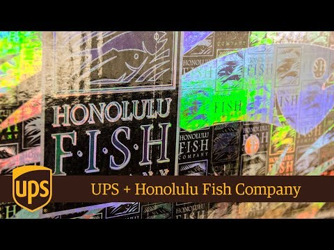 UPS + Honolulu Fish Company