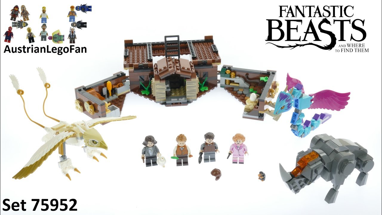 Creatures Beasts Case Lego Speed Of 75952 Magical Build Fantastic Review Newt´s yvnwmNO80P