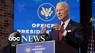 Biden promises to deliver 100 million shots of vaccine in 1st 100 days | WNT