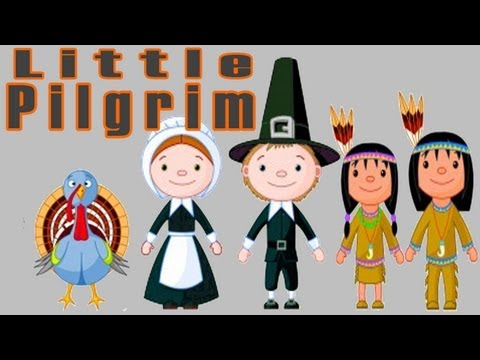 Thanksgiving Songs for Children - Little Pilgrim - Kids Song by The Learning Station